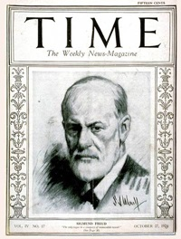 Freud on the cover of Time Magazine