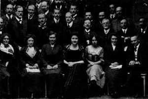 Freud and Jung in group photo