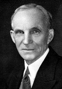 a biography of henry ford american industrialist and the founder of the ford motor company