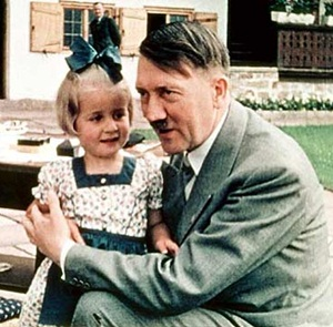 Hitler with a child