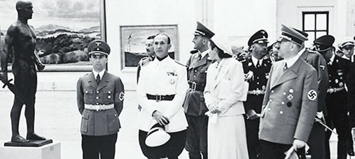 Goebbels, Hitler, and other Nazis