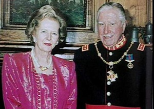 Pinochet and Thatcher