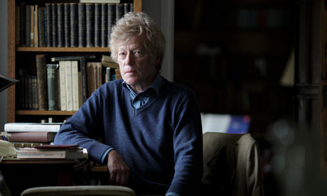 Roger Scruton in his study