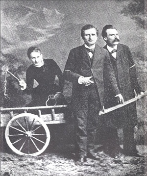 Lou Salome and Nietzsche
