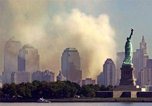 The Statue of Liberty on 9/11