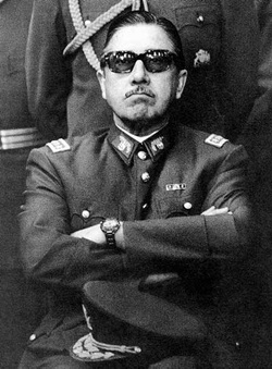 Young Augusto Pinochet