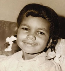 Condoleezza Rice as a child
